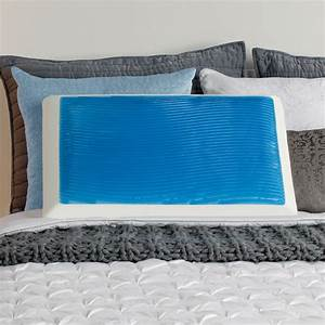 sealy memory foam and cooling hydraluxe gel bed pillow With cold bed pillows