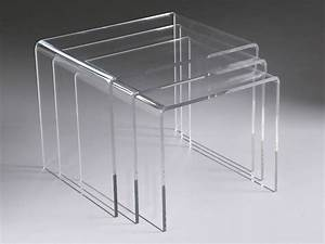 Table Basse En Plexiglas : table plexiglas ~ Teatrodelosmanantiales.com Idées de Décoration