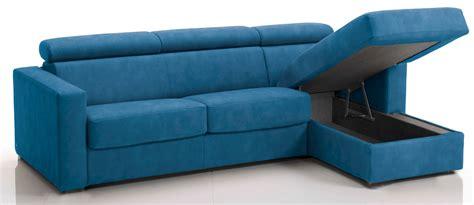 canapé d angle bleu canapé d 39 angle convertible avec têtières revêtement