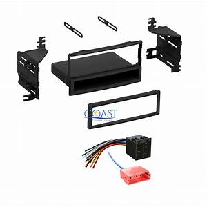 Single Din Radio Stereo Dash Kit Harness For 2010