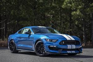 2020 GT350 in Performance Blue fresh off the truck. (Reason for no front splitter) : carporn
