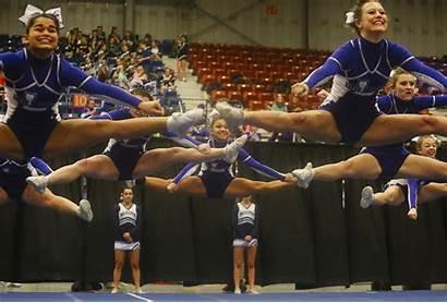 Cheerleading Maine State Cheerleaders Championships Lewiston Class