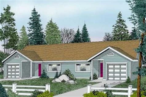 multi unit ranch house plans home design ddi