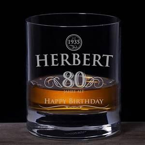Geburtstag Berechnen : whiskyglas 80 geburtstag elegant mit pers nlicher gravur ~ Themetempest.com Abrechnung
