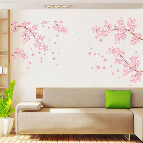 flower wall stickers blossom removable wall decal