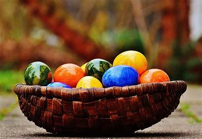 Easter Happy Colorful Eggs