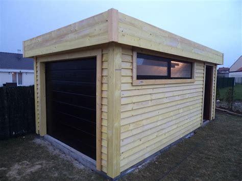 garage bois moderne esth 233 tique et pratique chalet