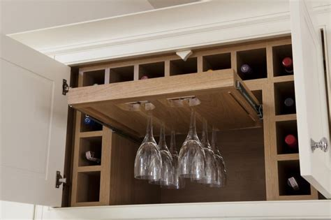 Wine racks and wine bottle storage for the kitchen. Pull