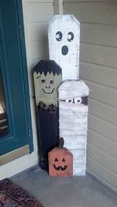 Deco Halloween Diy : 40 homemade halloween decorations picket fence decor homemade halloween and homemade ~ Preciouscoupons.com Idées de Décoration