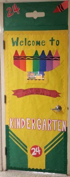 crayon theme door education pinterest doors  crayons