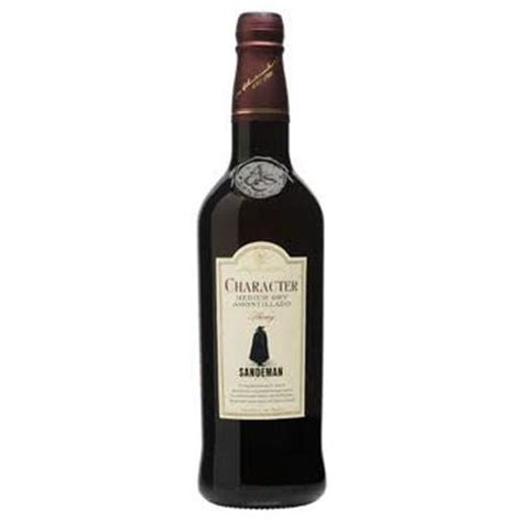 sherry sandeman character dry amontillado andalucia spain 750ml