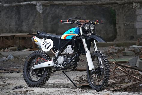 Modification Kawasaki Klx 250 by Custom Of The Week Kawasaki Klx250 By Knuckle Whackjob