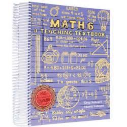 Teaching Textbook Math 6 Workbook Only