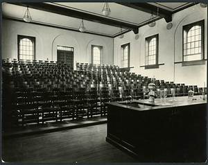 Chem Lecture Hall, 1926 and 2015 | Rice History Corner