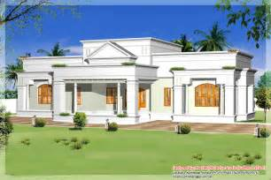 single house single storey kerala house model with kerala house plans