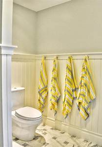 Powder room beadboard cottage bathroom gulf shore design for Bead board in bathroom