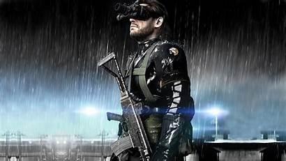 Gear Metal Solid Boss Ground Zeroes Wallpapers