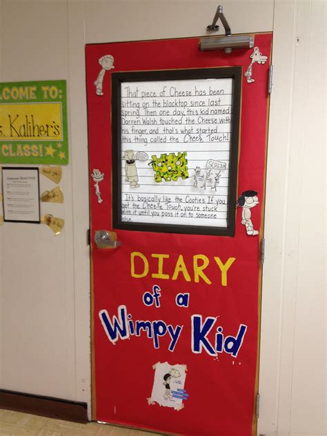 Decoration Ideas For Diary by Door Decorating For Quot Celebrate Literacy Week Quot Diary Of A