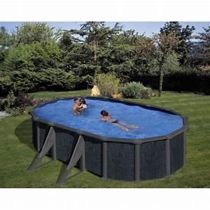 Piscine Hors Sol Resine : piscine hors sol acier rattan 500 x 300 mypiscine ~ Melissatoandfro.com Idées de Décoration