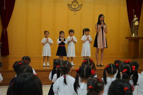 morning afternoon assembly st clares primary school kindergarten