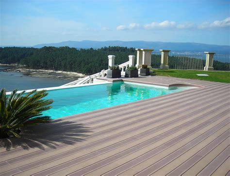 piastrelle bordo piscina pavimento bordo piscina in legno composito scarpa parquet