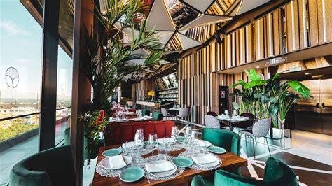 ginkgo restaurant sky bar rooftop madrid vp plaza