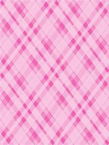 Pink Plaid Pattern Wallpaper | iPhone | Blackberry