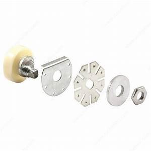 roulettes a bande de roulement plate ajustables pour porte With roulement pour porte de douche