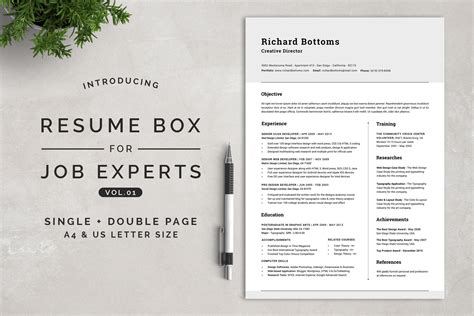 Resume Experts by Resume Box For Experts Vol 1 Resume Templates