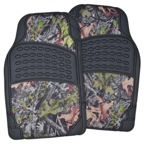 camo floor mats camo seat covers w black camouflage heavy duty all