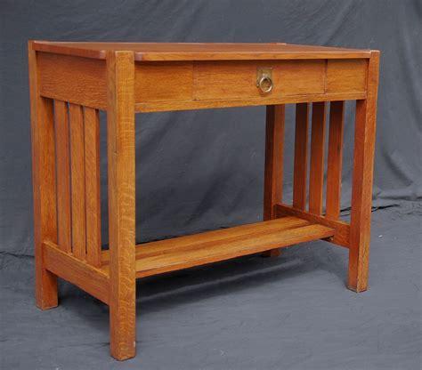 Voorhees Craftsman Mission Oak Furniture Stickley