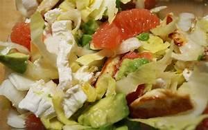 Salade Poulet Avocat : recette salade de poulet avocat et pamplemousse pas ch re ~ Melissatoandfro.com Idées de Décoration