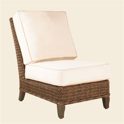 patio renaissance monticello armless chair