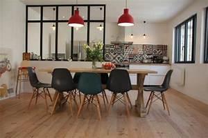Bar Séparation Separation Cuisine Salon : la verri re dans la cuisine 19 id es photos ~ Melissatoandfro.com Idées de Décoration