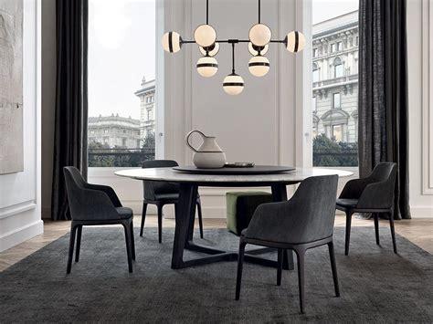 concorde marble table concorde collection  poliform