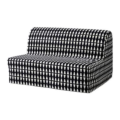 divano letto ikea lycksele lycksele murbo divano letto a 2 posti ebbarp nero bianco