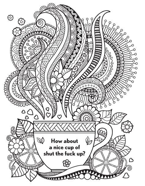 curse word coloring pages  colorings