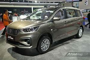 Swift 2018 Pillar Light India Bound 2018 New Ertiga Breaks Cover In Iims Finally