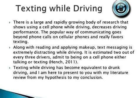 texting  driving essay thesis writing