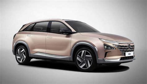 Hyundai Zeigt Neues Wasserstoffelektroauto Nexo (bilder