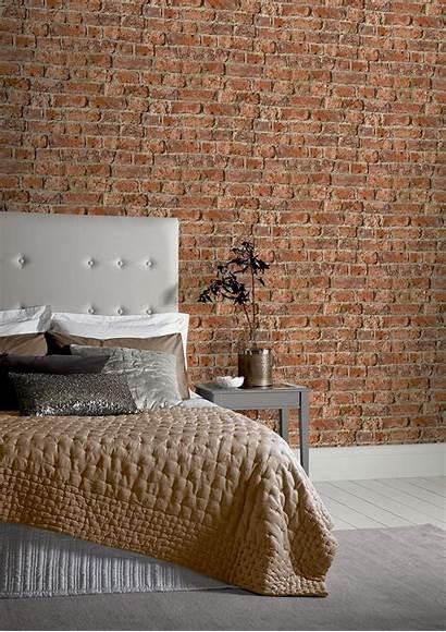 Brick Urban Bedroom