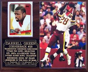 Darrell Green #28 Washington Redskins Super Bowl Champion ...