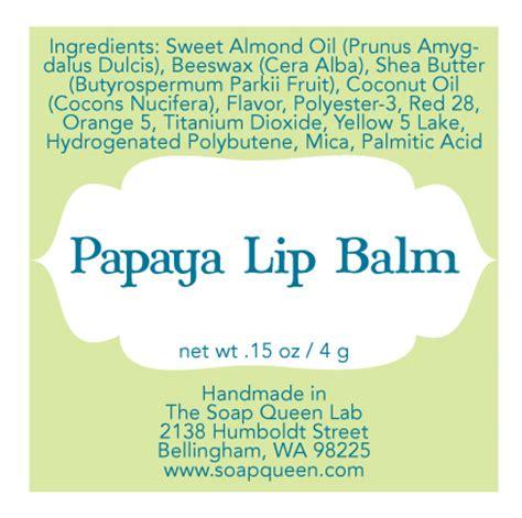 lip balm label template printable label templates