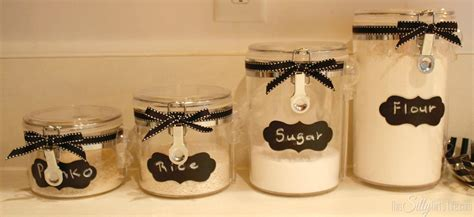 what to put in kitchen canisters diy canister re style this silly 39 s kitchen