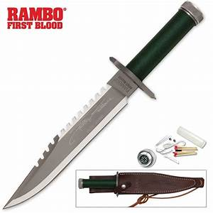 The Rambo First Blood Knife is a beast but is it functional?