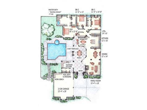 Courtyard Floor Plans by 93 Best Images About Courtyard Homes Home Sweet Home On