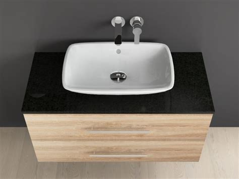 villeroy und boch aufsatzwaschtisch badm 246 bel mit granit waschtischplatte und villeroy boch loop f
