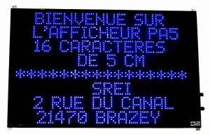 Panneau Lumineux Message : afficheur electronique afficheur lumineux ~ Teatrodelosmanantiales.com Idées de Décoration