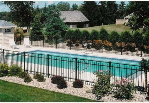 pool fencing styles 30 stylish and practical pool fence designs digsdigs