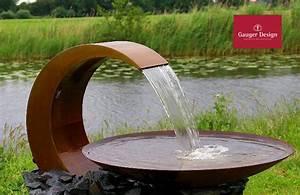 Gartenbrunnen Aus Cortenstahl : wasserschalen versch nern ihren garten ~ Sanjose-hotels-ca.com Haus und Dekorationen